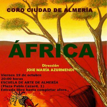 Concierto del Coro Ciudad de Almería con Kammerchor an St. Martin