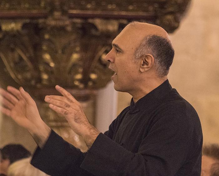 Jose Azurmendi, director del Coro Cudad de Almeria