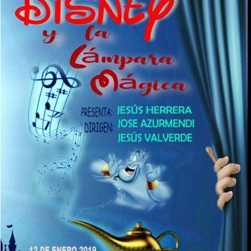 Disney y la lampara mágica