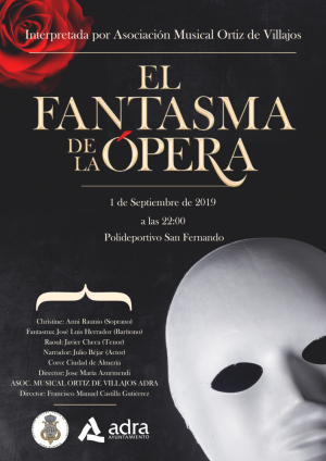 El Fantasma de la Opera en Adra